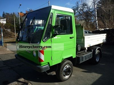 multicar m26 7 4x4 tipper 2007 three sided tipper truck photo and specs. Black Bedroom Furniture Sets. Home Design Ideas