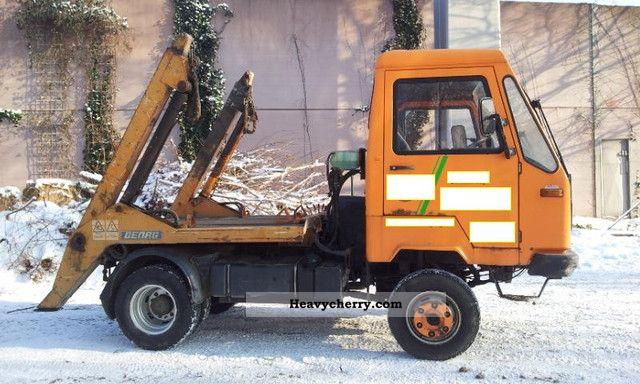 multicar m26 iveco 4x4 skip loader 106hp 1996 dumper truck. Black Bedroom Furniture Sets. Home Design Ideas