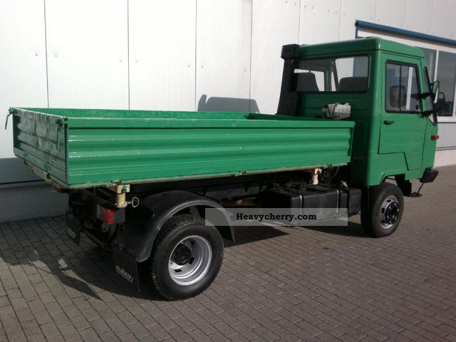 multicar m26 4 al 4 x 4 1996 tipper truck photo and specs. Black Bedroom Furniture Sets. Home Design Ideas