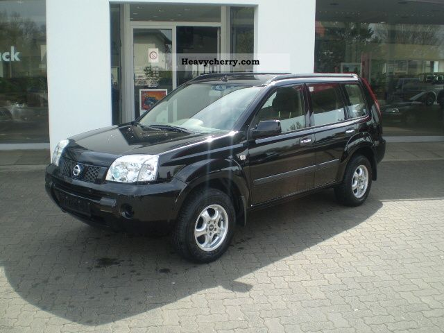 nissan x trail 2 2 dci suv 4x4 comfort 2005 other vans trucks up to 7 photo and specs. Black Bedroom Furniture Sets. Home Design Ideas