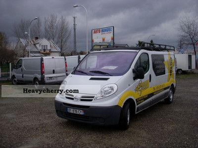 nissan primastar traffic vivaro l2h1 air euro 4 2007 box type delivery van photo and specs. Black Bedroom Furniture Sets. Home Design Ideas