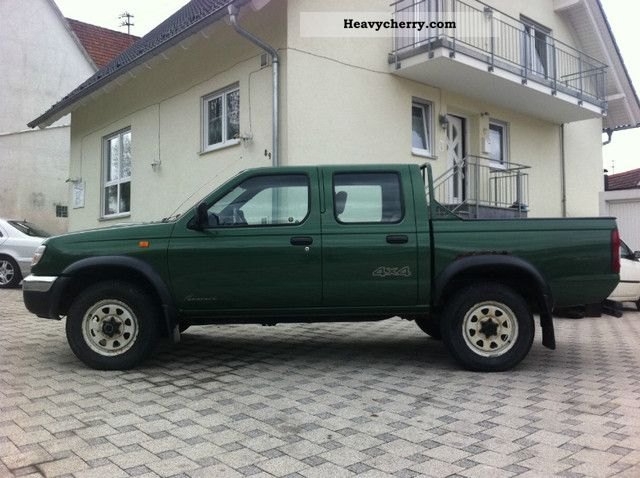 Nissan King Cab Doka Flatbed 2001 Stake Body Truck Photo And Specs