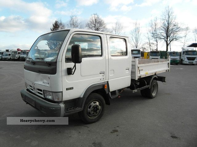 Nissan Atlas Double Cab >> Nissan Cabstar Double Cab Tipper 35.13 2006 Tipper Truck Photo and Specs