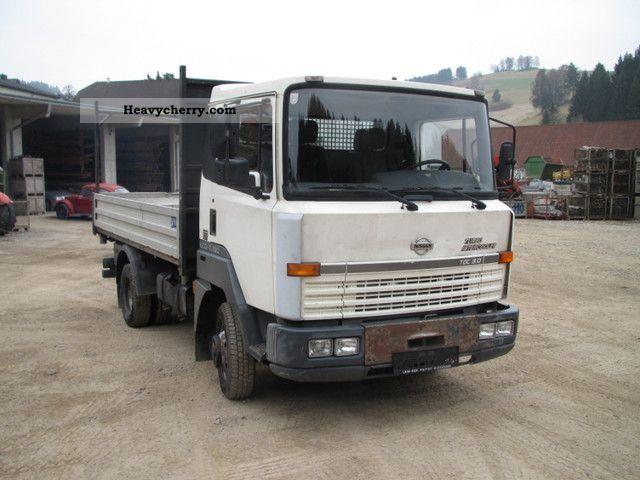 nissan l56 2000 tipper truck photo and specs. Black Bedroom Furniture Sets. Home Design Ideas