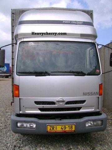 Nissan ATLEON TK 140.80 / 4 (id: 5012) 2000 Stake body and ...