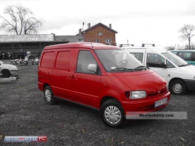 nissan vanette cargo 1998 other vans trucks up to 7 photo. Black Bedroom Furniture Sets. Home Design Ideas