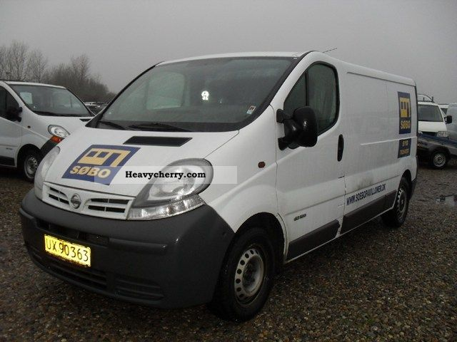 nissan primastar 1 9 dci 100 l2h1 2006 other vans trucks up to 7 photo and specs. Black Bedroom Furniture Sets. Home Design Ideas