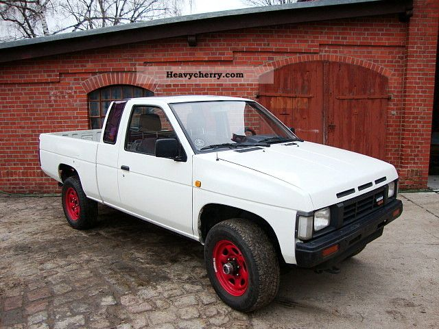 nissan pick up 4wd king cab 4x4 diesel 2 5d md21 1987