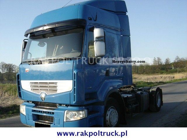 2005 Renault  Premium 440dxi Semi-trailer truck Standard tractor/trailer unit photo