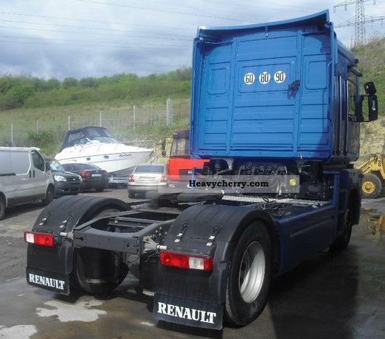 Semi Truck Air Tanks : Renault magnum euro dxi webasto air tanks