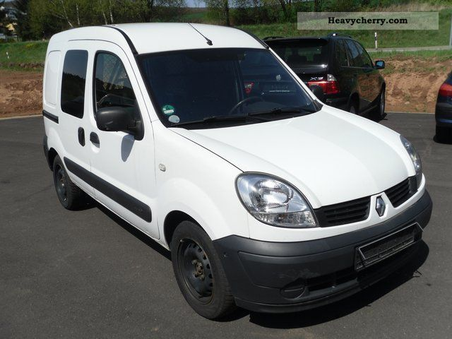 renault kangoo 1 5 dci 2007 box type delivery van photo. Black Bedroom Furniture Sets. Home Design Ideas