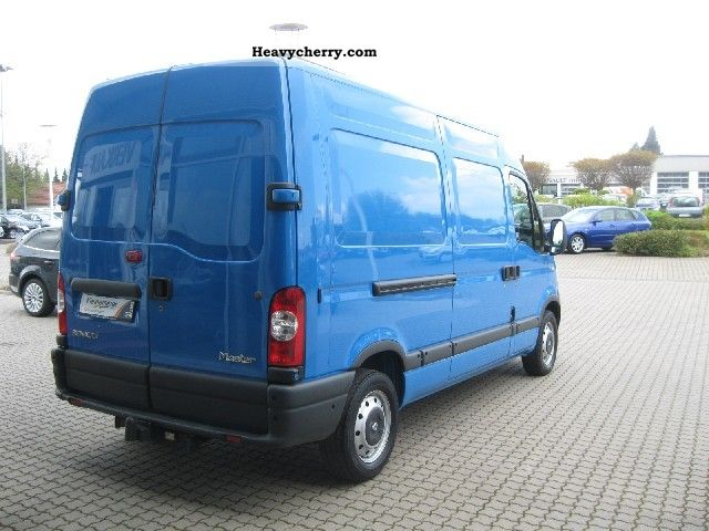 renault master l2h2 3 3 t 2008 box type delivery van photo and specs. Black Bedroom Furniture Sets. Home Design Ideas
