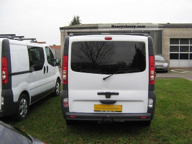 renault trafic 2 5 dci 115 l1h1 2008 box type delivery van. Black Bedroom Furniture Sets. Home Design Ideas