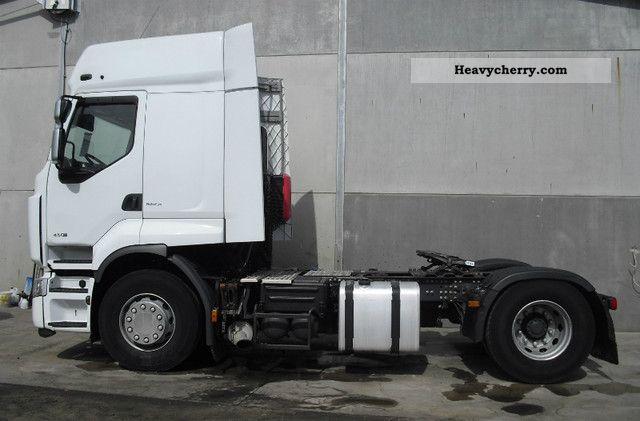 Semi Truck Air Tanks : Renault premium dxi intarder air tanks standard