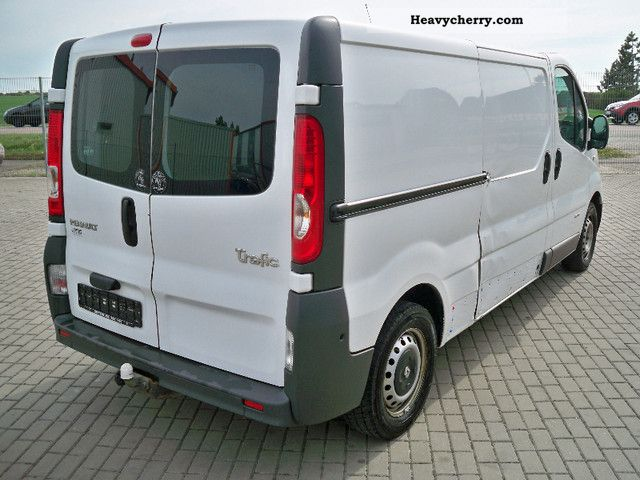 renault trafic l2h1 long 84 kw climate checkbook 2008 box type delivery van. Black Bedroom Furniture Sets. Home Design Ideas