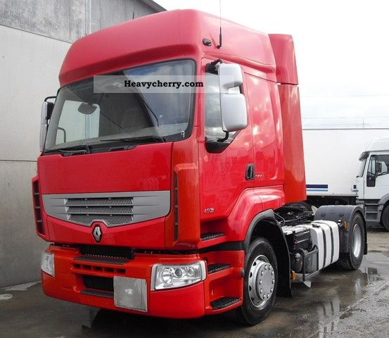 2006 Renault  Premium 450 DXI Euro 4 air tires new Semi-trailer truck Standard tractor/trailer unit photo