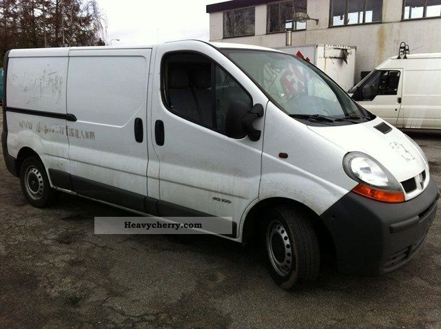 renault trafic 1 9 d 100 t29 l2h1 5500netto 2006 other vans trucks up to 7 photo and specs. Black Bedroom Furniture Sets. Home Design Ideas