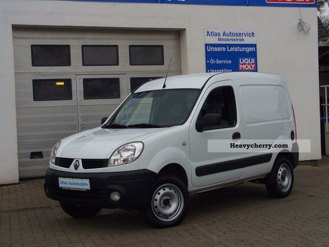 renault kangoo rapid 1 6 16v 4x4 wheel air standheiz 2007 box type delivery van photo and specs. Black Bedroom Furniture Sets. Home Design Ideas