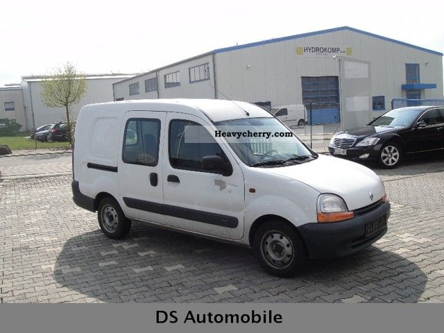 renault kangoo 1 9 d maxi 43 tkm 2002 box type delivery van photo and specs. Black Bedroom Furniture Sets. Home Design Ideas