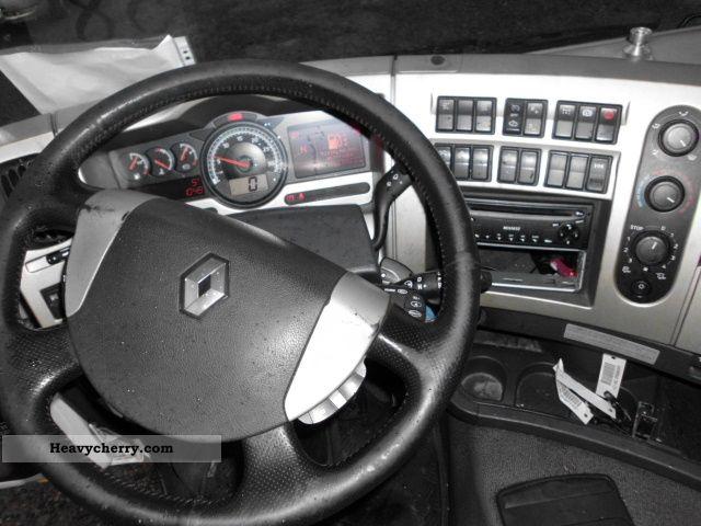 Renault PREMIUM 370 DXI GERMAN TRUCK EURO 5 2007 Standard tractor/trailer unit Photo and Specs