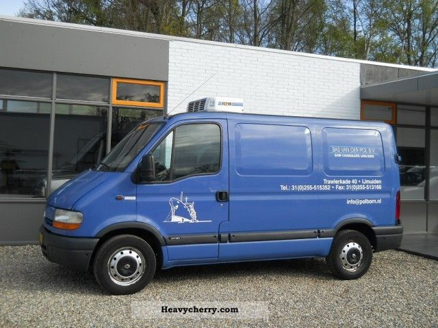 renault master 2 5 dci l1h1 panel van cooling 2003 refrigerator box truck photo and specs. Black Bedroom Furniture Sets. Home Design Ideas