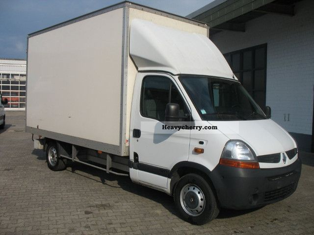 renault master dci 120 2008 box truck photo and specs. Black Bedroom Furniture Sets. Home Design Ideas