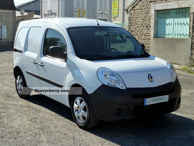 renault kangoo comfort express ii 1 5 dci 85 2010 box type delivery van photo and specs. Black Bedroom Furniture Sets. Home Design Ideas