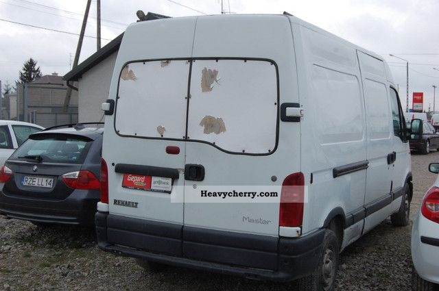 renault master l2h2 2 5d 1998 box type delivery van high and long photo and specs. Black Bedroom Furniture Sets. Home Design Ideas