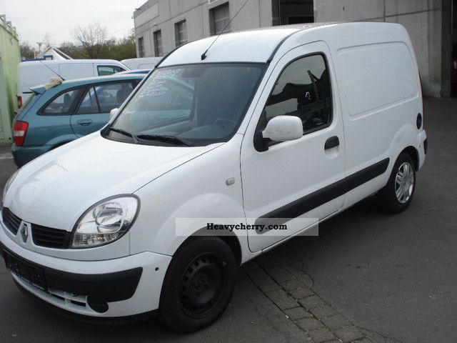 renault kangoo express 1 5 dci air 2007 box truck photo and specs. Black Bedroom Furniture Sets. Home Design Ideas