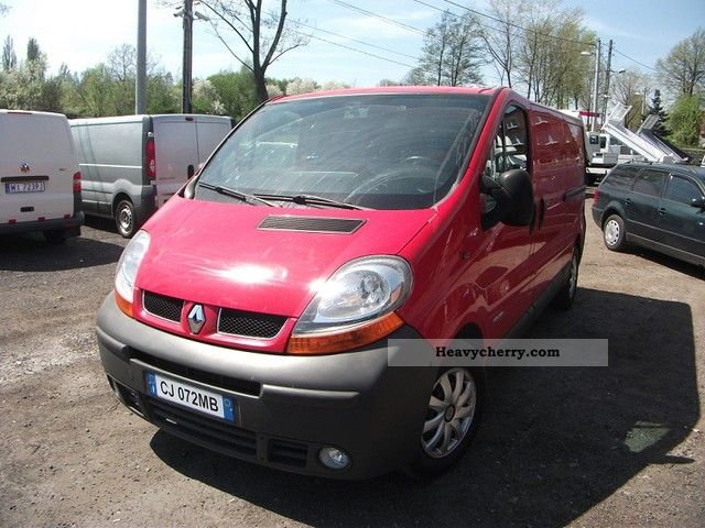 renault traffic 2004 other vans trucks up to 7 photo and specs. Black Bedroom Furniture Sets. Home Design Ideas