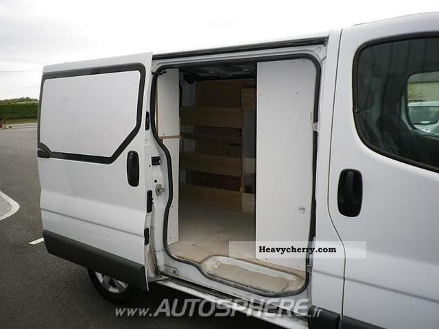 renault trafic l1h1 fg dci100 grd cft 2007 box type. Black Bedroom Furniture Sets. Home Design Ideas