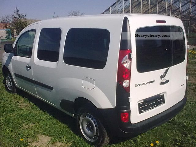 renault kangoo maxi air 2011 box type delivery van long photo and specs. Black Bedroom Furniture Sets. Home Design Ideas
