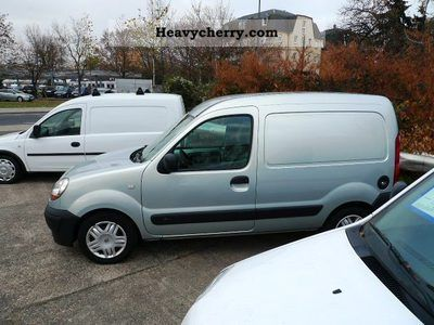 Renault Kangoo 1 6 16V Air + Truck 2006 Box-type delivery