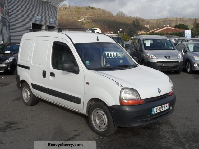 renault kangoo 1 5 dci 80 2 ptes lat 2002 box type delivery van photo and specs. Black Bedroom Furniture Sets. Home Design Ideas