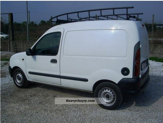 renault kangoo 1 9 d rl 2000 box type delivery van photo and specs. Black Bedroom Furniture Sets. Home Design Ideas