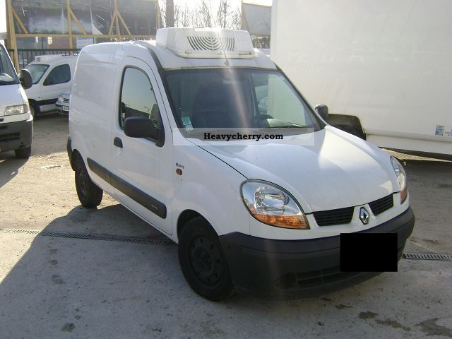 renault kangoo 1 9 dci frigorifique fourgon 2003 refrigerator box truck photo and specs. Black Bedroom Furniture Sets. Home Design Ideas