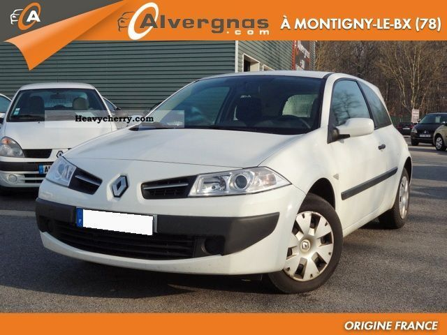 renault megane ii 2 1 5 dci 85 societe air 3p 2008 box type delivery van photo and specs. Black Bedroom Furniture Sets. Home Design Ideas