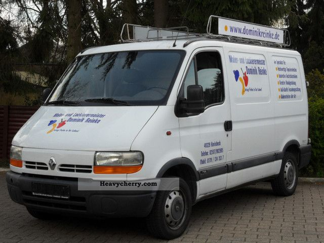 2001 Renault  Master TUV 07-2013 Van or truck up to 7.5t Box-type delivery van photo