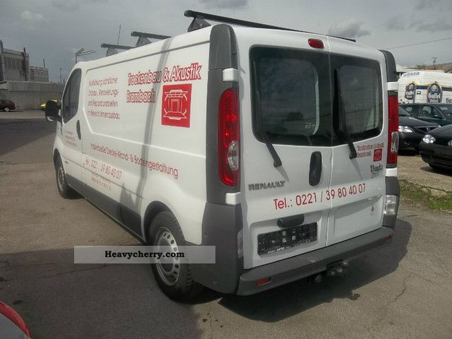 renault trafic 2 0 dci 115 l2h1 air 25000km 2009 box type delivery van long photo. Black Bedroom Furniture Sets. Home Design Ideas