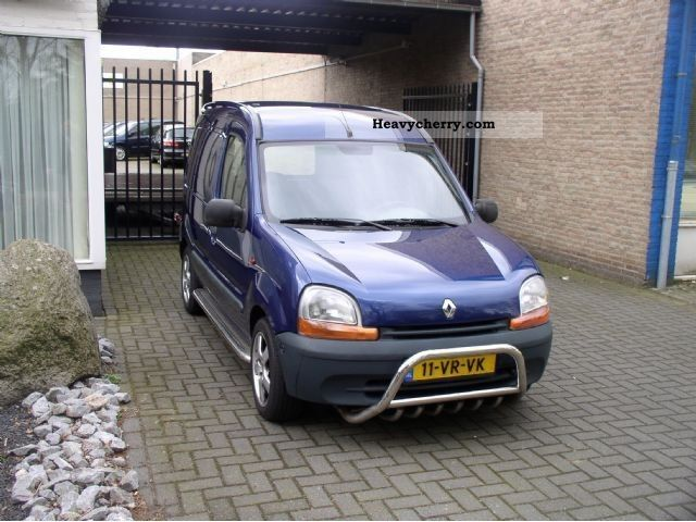 renault kangoo 1 9d express 2000 box type delivery van photo and specs