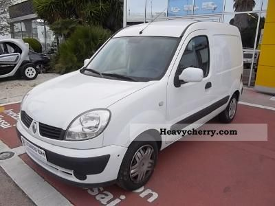 renault renault kangoo 1 5 dci 70 conf 2008 box type delivery van photo and specs. Black Bedroom Furniture Sets. Home Design Ideas