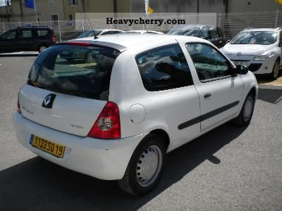 renault renault clio 1 5 dci 70 societe a campus 2007 box type delivery van photo and specs. Black Bedroom Furniture Sets. Home Design Ideas