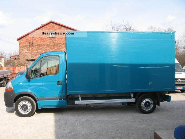 renault master 2 5 dci 2008 chassis truck photo and specs. Black Bedroom Furniture Sets. Home Design Ideas