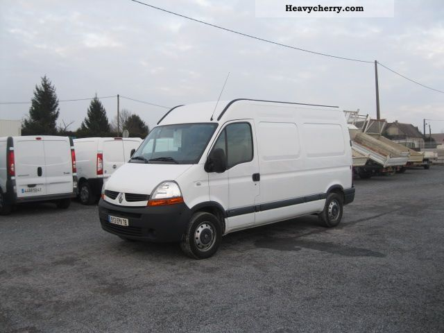 renault master renault master l2h2 fg t35 revisited 2008 box type delivery van photo and specs. Black Bedroom Furniture Sets. Home Design Ideas