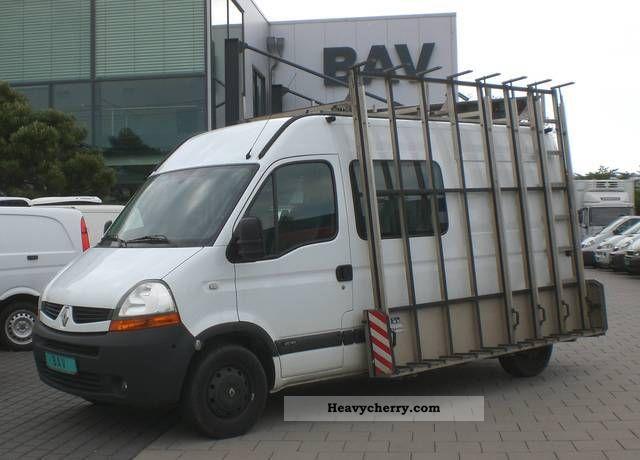 renault master 2 5 dci 150l2 h2 6 seater glass van 2007 glass transport superstructure truck. Black Bedroom Furniture Sets. Home Design Ideas