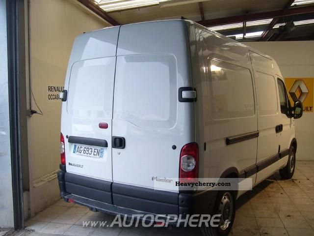renault master fg t33 l2h2 dci120 extra 2009 box type delivery van high photo and specs. Black Bedroom Furniture Sets. Home Design Ideas