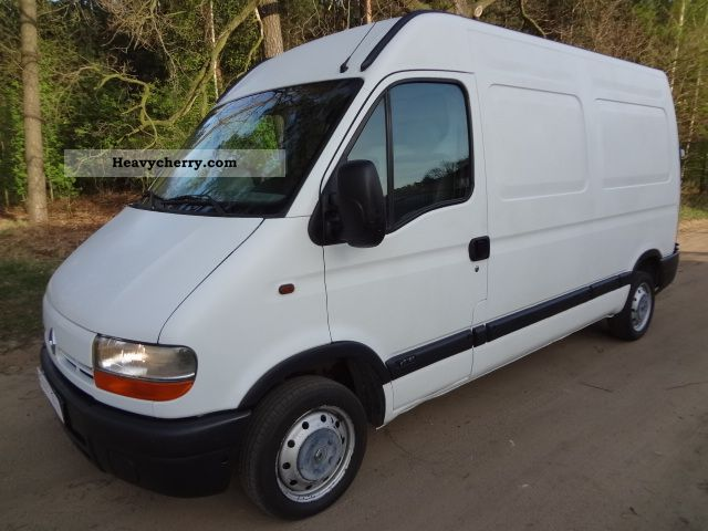 Renault Master 2003 Box Type Delivery Van Photo And Specs