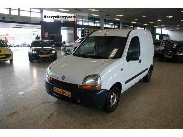 renault kangoo 1 9 d 1998 box type delivery van photo and specs. Black Bedroom Furniture Sets. Home Design Ideas