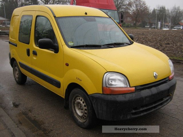 renault kangoo 1 9 d box euro 3 abs 2 hand 2002 box type delivery van photo and specs. Black Bedroom Furniture Sets. Home Design Ideas