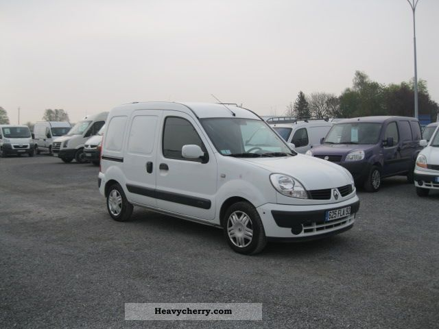 2007 Renault  RENAULT Kangoo Kangoo PACK CD CLIM GYRAP Van or truck up to 7.5t Box-type delivery van photo